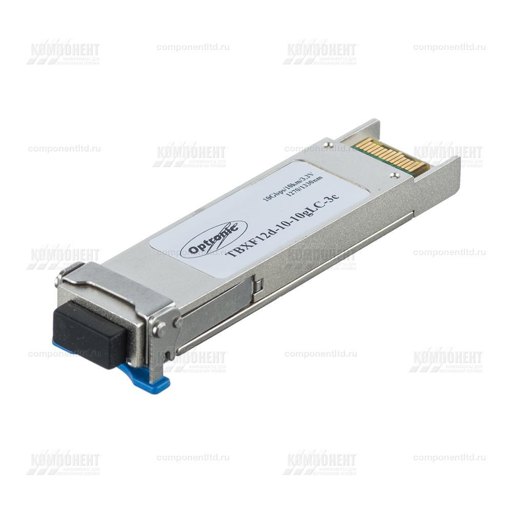 Модуль XFP WDM, 10Гбит/с, 1270/1330нм, 10км, TBXF12d-10-10gLC-3c