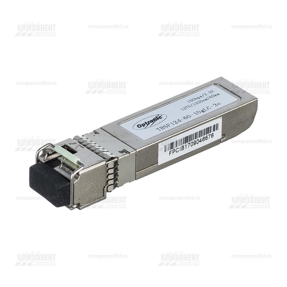 Модуль SFP+ WDM, 10Гбит/с, 1270/1330нм, 60км, TBSF12d-60-10gLC-3c